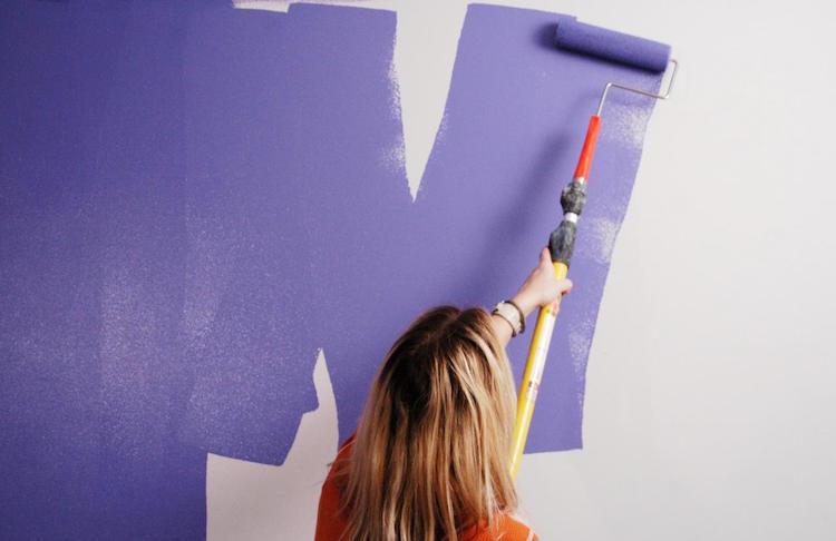 Cara Mengecat Dinding Yang Mudah Dengan Hasil Yang Estetik
